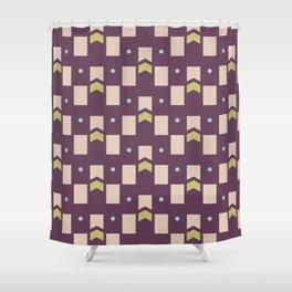 Art Deco Geometric Pattern 273 Shower Curtain