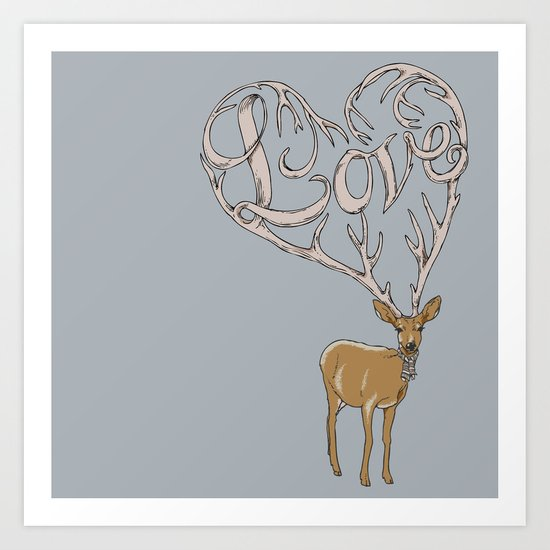 Stubborn Love Art Print