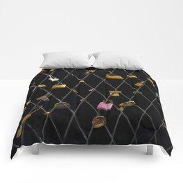 Love Locks by the Sea Comforters
