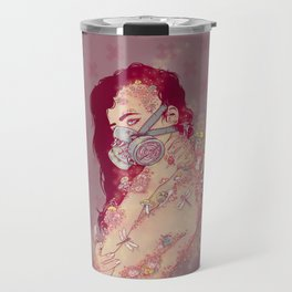 Biohazard Lady Travel Mug