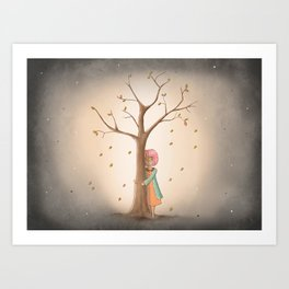 My Last Tree Art Print