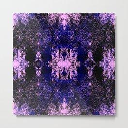 Yorimasa - Abstract Multicolor Rorschach Butterfly Metal Print