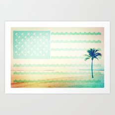 The Tropical States of America Art Print