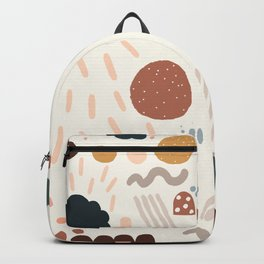 Geo Shapes Luxe Backpack Backpack