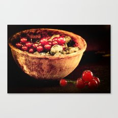 Berry mixed Canvas Print