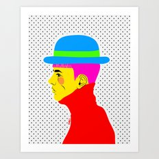 Mr. Colors Art Print