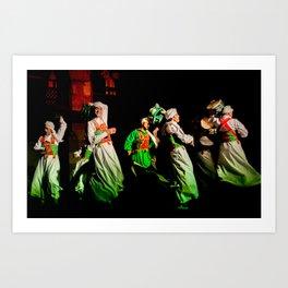 Sufi Dance Art Print