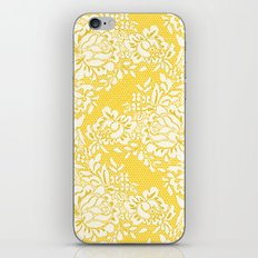 Abstract Lace iPhone Skin
