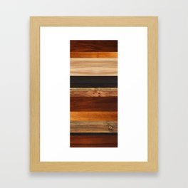 Woodboard 1 Framed Art Print
