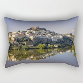 Dusk at Mertola, Portugal Rectangular Pillow