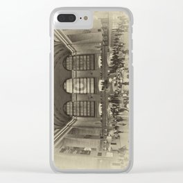 Grand Central Terminal Vintage Clear iPhone Case