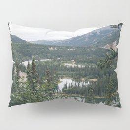 Horseshoe Lake 1 - Denali National Park Pillow Sham