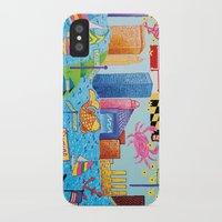 baltimore iPhone & iPod Cases featuring Baltimore, Maryland by Karen Riddle