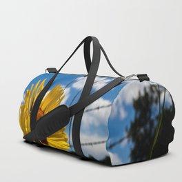 A Rocky Mountain Sunflower Duffle Bag
