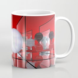 reflected blob Coffee Mug
