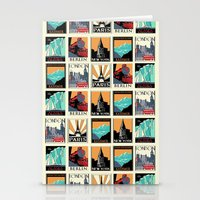 posters Stationery Cards featuring Travel Posters by Printed Village