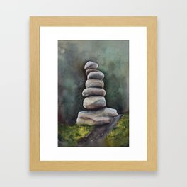 In A Clearing Framed Art Print