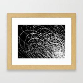 Linear Waves2 Framed Art Print