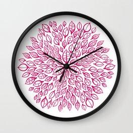 Citrus hexagon Wall Clock