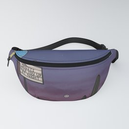 Ghost Motel Fanny Pack