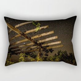 The Night Sky in Costa Rica Rectangular Pillow