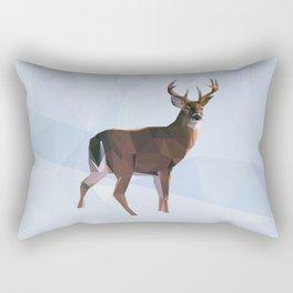 Reindeer in a winterwonderland Rectangular Pillow