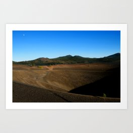 Lassen Volcanic National Park - Cinder Cone Valcano Art Print