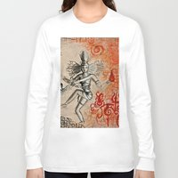 shiva Long Sleeve T-shirts featuring Shiva by Maithili Jha