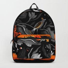 Fiery wildness Backpack