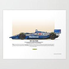 #2 LOLA - 1993 - T9300 - Goodyear Art Print