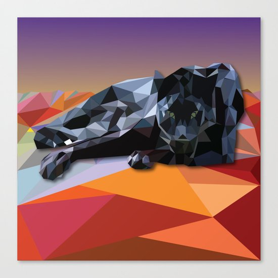 Black Panther Canvas Print