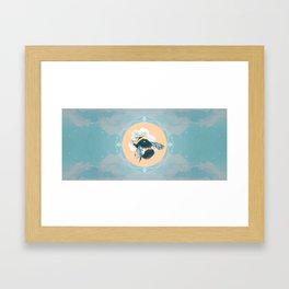 Bumblebee Hurricane Framed Art Print