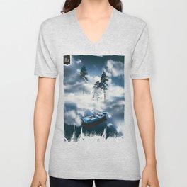 Forest sailing Unisex V-Neck