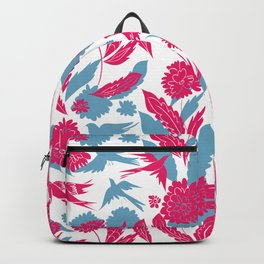 Flowers and birds Backpack