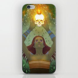 Crown of Fire iPhone Skin