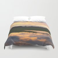 mirror Duvet Covers featuring Mirror by friz sala