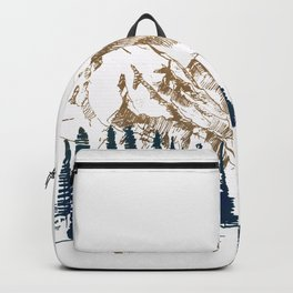 mountains 9 Backpack
