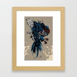 Sirin / Bird of Sorrow Framed Art Print