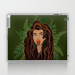 MAIA green bg Laptop & iPad Skin