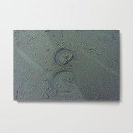 Nautica: Hoof Prints Metal Print