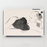 calm iPad Cases featuring Calm by Allison Reich
