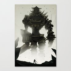 Looming Canvas Print