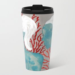 mercan & sedef Metal Travel Mug