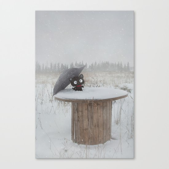 Winter Adventures Canvas Print