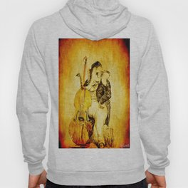 The elephant in the double bass Hoody