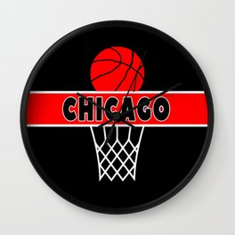 Chicago Basketball Bulls Wall Clock