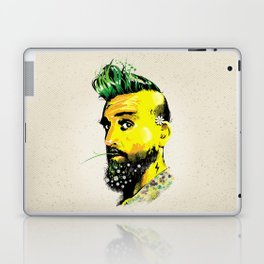 GREEN BEARD Laptop & iPad Skin