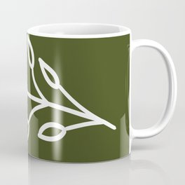 Feeling of lightness - Pine needle green Coffee Mug