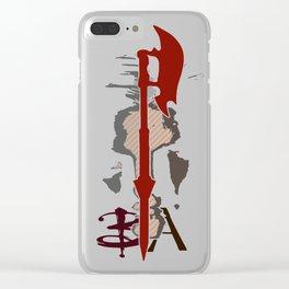 Buffy & Angel Clear iPhone Case