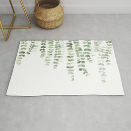 Eucalyptus Watercolor Rug
